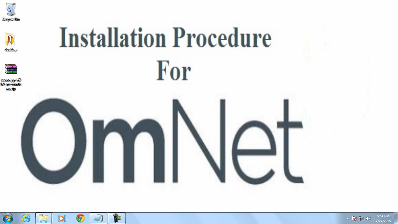 OMNET 5.0 INSTALLATION