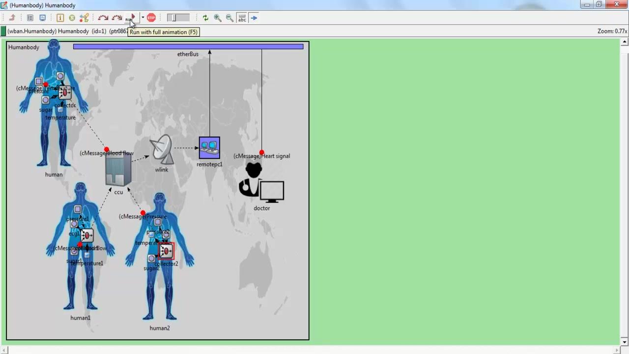 OMNET++ WIRELESS BODY AREA NETWORK PROJECTS